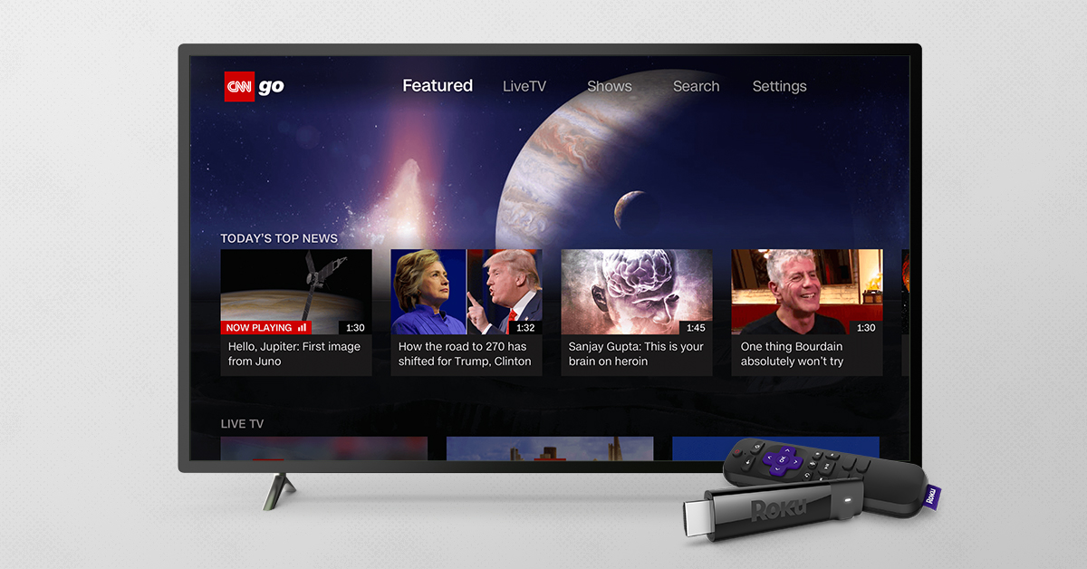 CNNgo Launched on Roku Devices in Canada | Cnnic