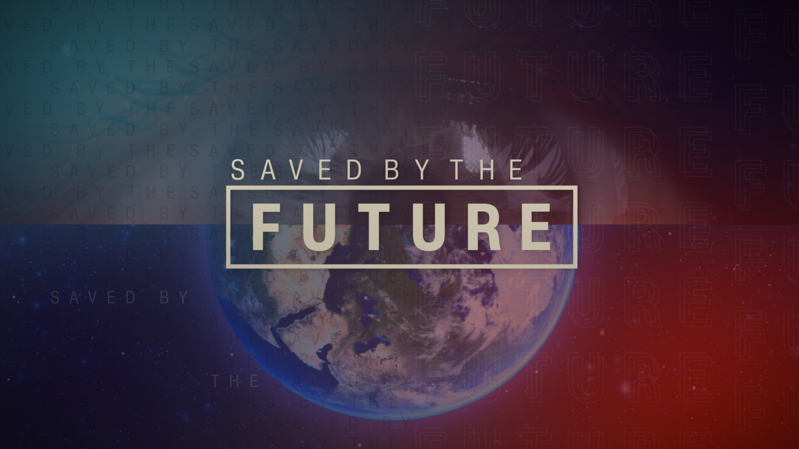 Saved By the Future Logo