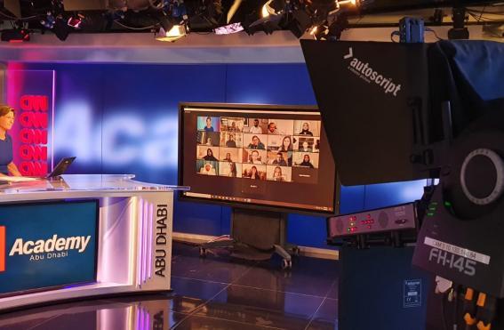 Becky Anderson CNN Academy Abu Dhabi Launch