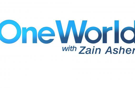 One World with Zain Asher Logo