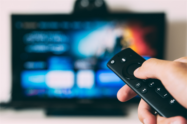 Remote and connectedTV screen