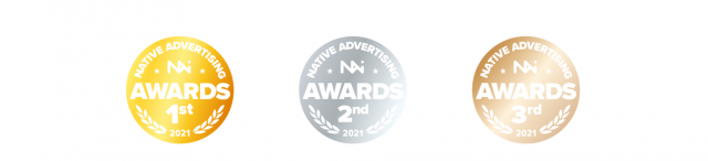 Medals Native Advertising