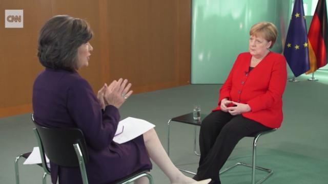 Amanpour's exclusive interview with Angela Merkel