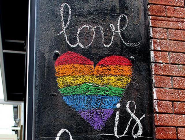 Love is blackboard