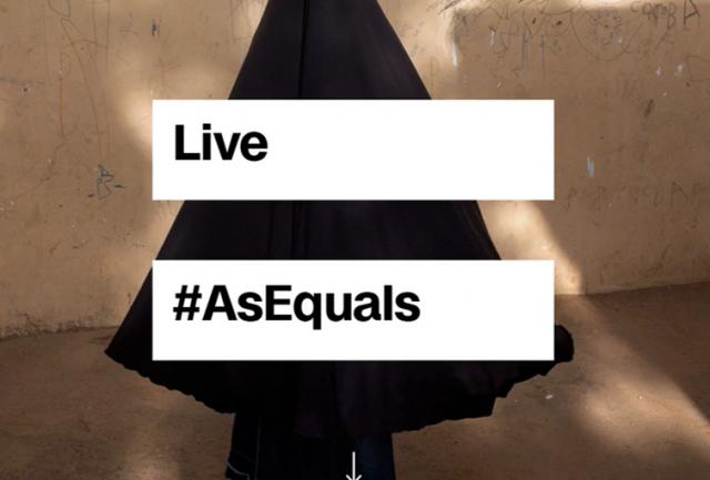 As Equals Logo