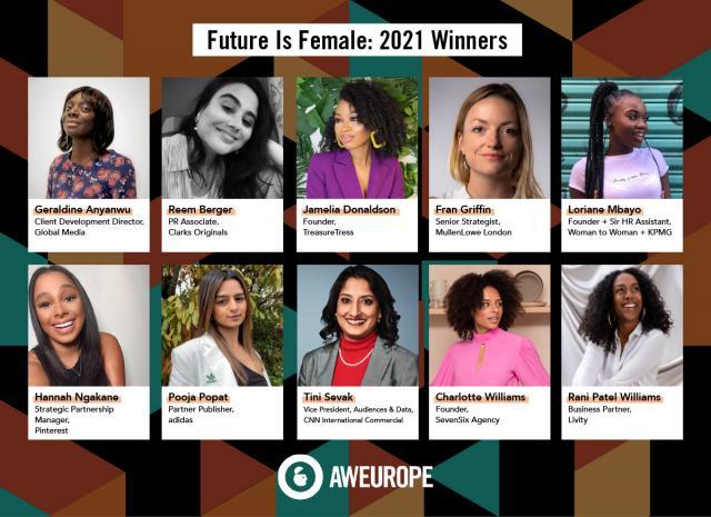 Future is Female Winners